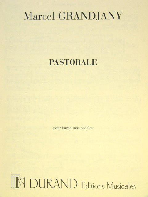 Grandjany, Marcel - Pastorale :