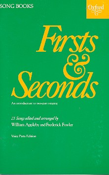 Firsts and Seconds: for 2 voices (mixed chorus) a cappella