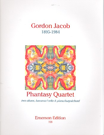 Phantasy Quartet: for 2 oboes, bassoon (cello) and piano (harpsichord)