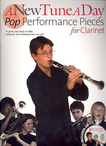 A new Tune a Day - Pop Performance Pieces (+CD): for clarinet