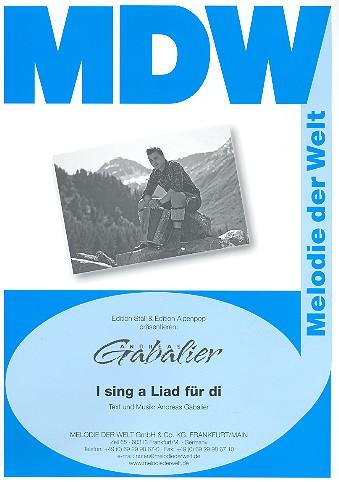 I sing a Liad für di: Einzelausgabe für Gesang und Klavier