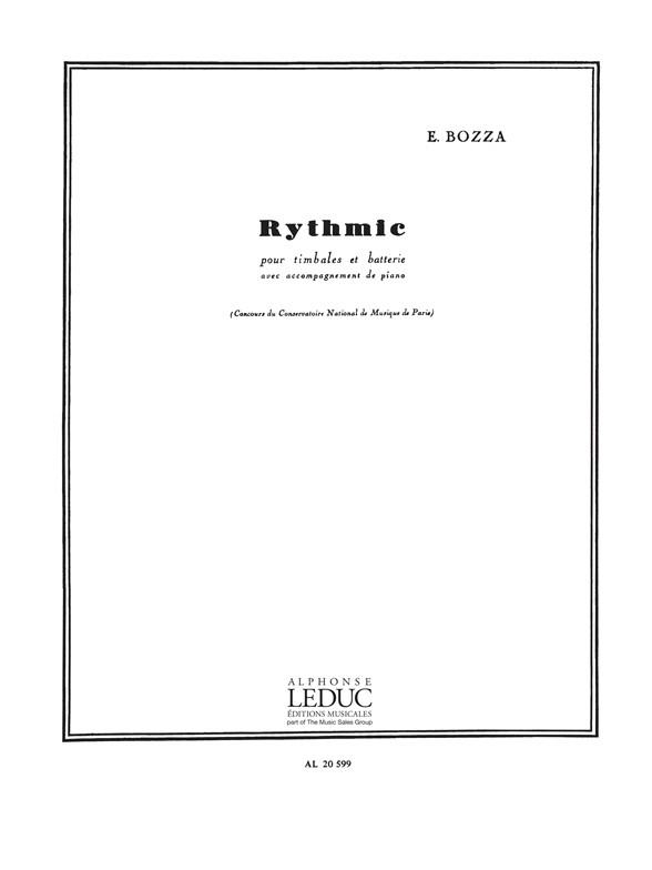 Rythmic opus.70: pour timbales et batterie