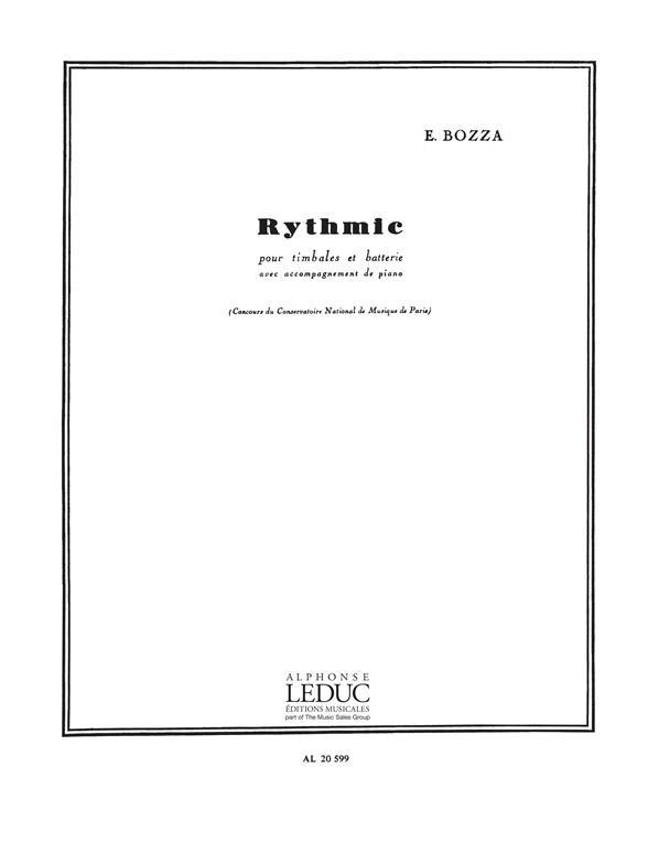 Rythmic op.70: pour timbales et batterie