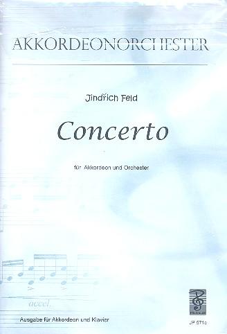 Konzert für Akkordeon und Orchester: für Akkordeon und Klavier