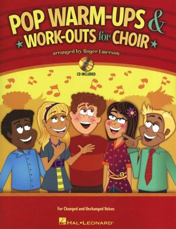 Pop Warm-ups & Work-outs vol.1 (+CD): for mixed chorus and piano