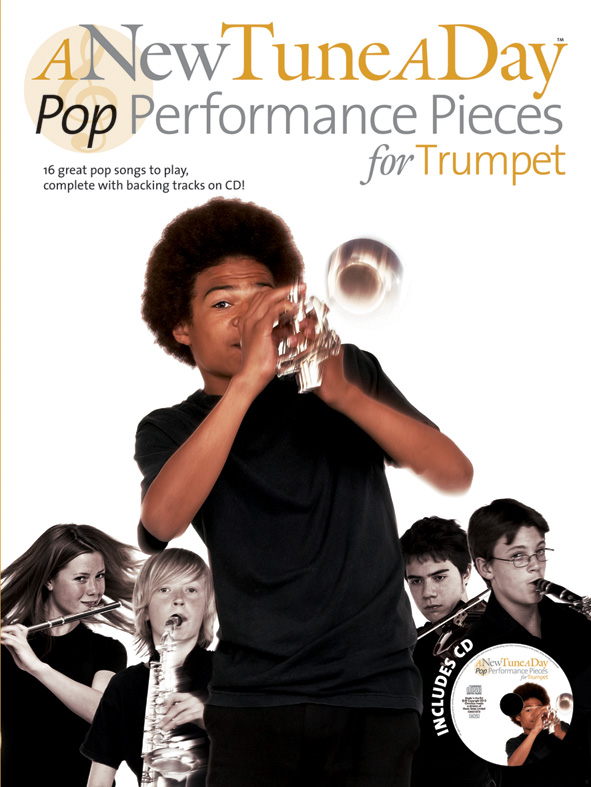 A New Tune a Day Pop Performance Pieces (+CD): for trumpet