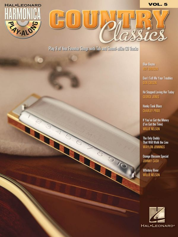 Country Classics (+CD): for harmonica harmonica playalong vol.5