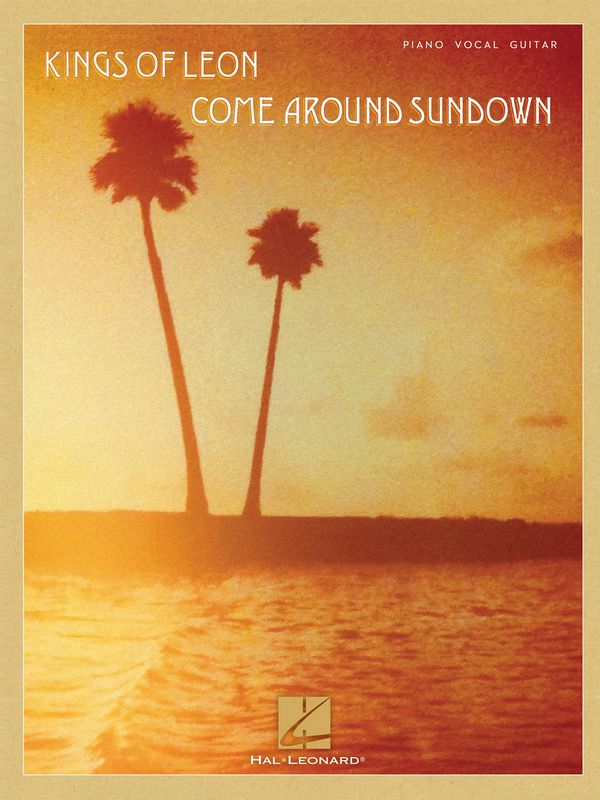 Kings of Leon: Coma around Sundown songsbook piano/vocal/guitar