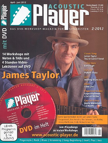 Acoustic Player 2/2012 (+DVD)
