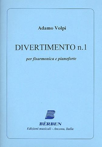 Divertimento Nr.1: für Akkordeon und Klavier