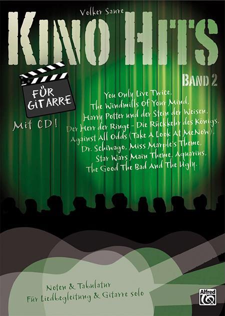Kino-Hits Band 2: für Gitarre/Tabulatur