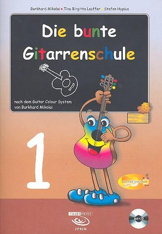 Die bunte Gitarrenschule (+CD)