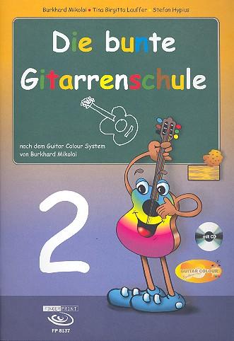 Die bunte Gitarrenschule Band 2 (+CD)