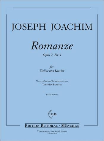 Romanze opus.2,1: für Violine und Klavier
