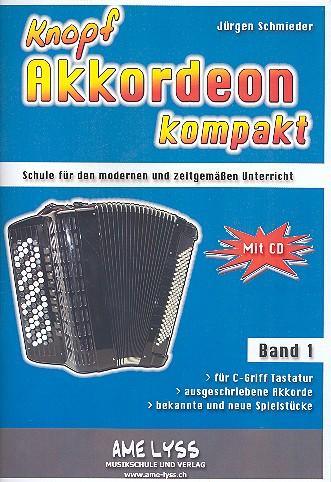 Knopfakkordeon kompakt Band 1 (+CD)