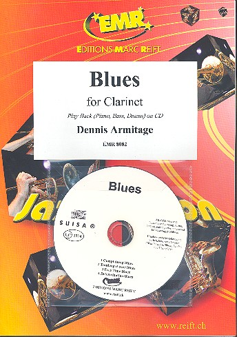 Blues (+CD): for clarinet and piano (bass and drums ad lib)