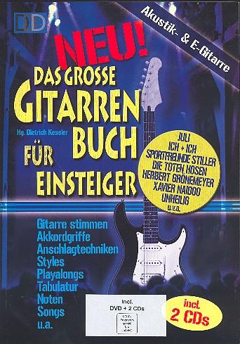 - Das große Gitarrenbuch für Einsteiger (+DVD +2 CD's) :