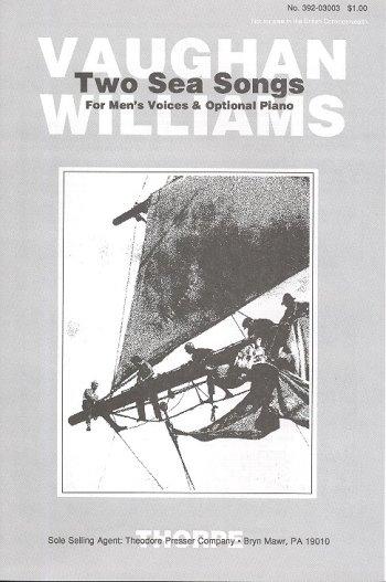 2 Sea Songs: for male chorus a cappella (piano ad lib)
