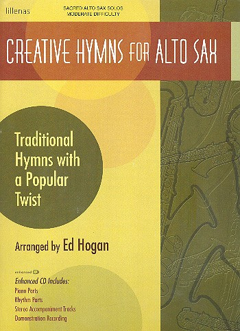 Creative Hymns (+CD): for alto saxophone