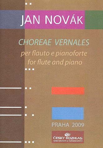 Choreae vernales: for flute and piano