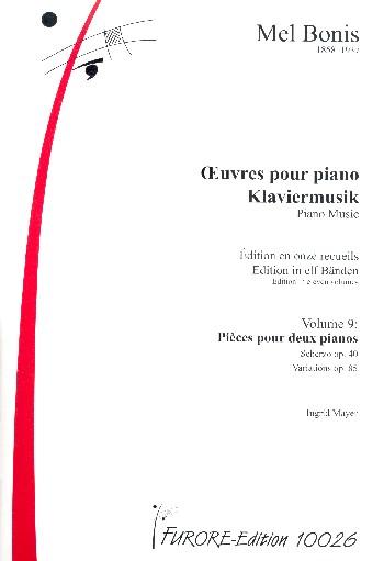 Klaviermusik Band 9 : - Vollanzeige.
