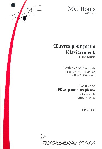 Bonis, Mel (Domange, Mélanie) - Klaviermusik Band 9 :