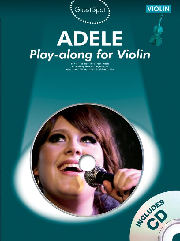 Adele (+CD): for violin Guest Spot Playalong