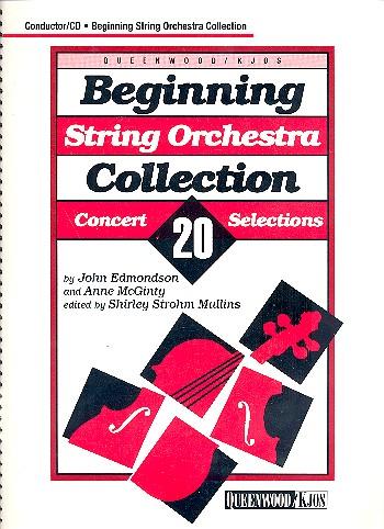 Edmondson, John - Beginning String Orchestra Collection (+CD) :