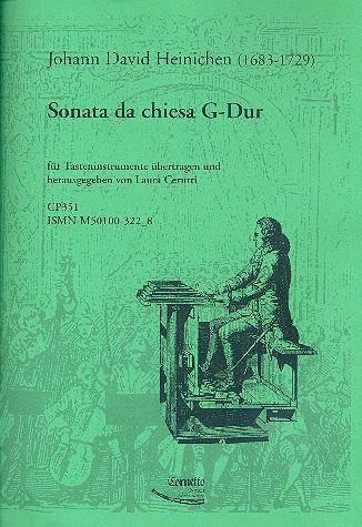 Sonata da chiesa G-Dur: für Tasteninstrument
