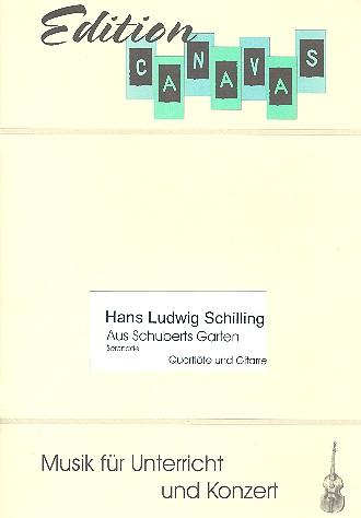 Aus Schuberts Garten: für Flöte und Gitarre Spielpartitur