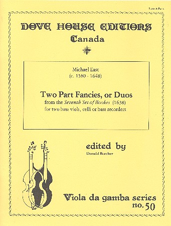 2-Part Fancies or Duos: for 2 bass viols (celli/bass recorders)
