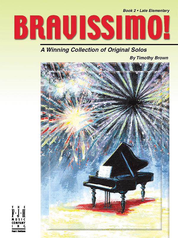 Brown, Timothy - Bravissimo vol.2 : for piano