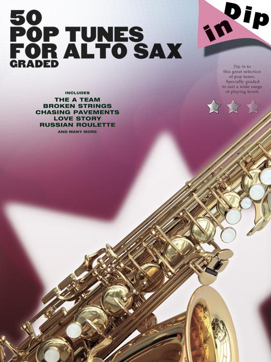 50 graded Pop Tunes: for alto saxophone