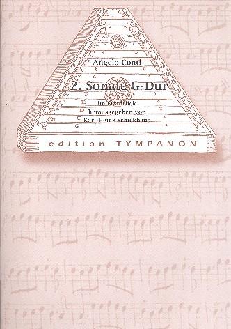 Sonate G-Dur Nr.2: für Hackbrett und Cembalo