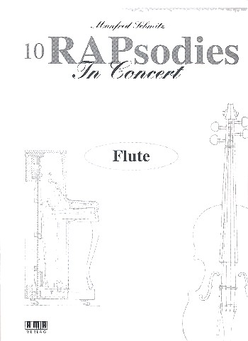 10 Rapsodies in Concert: für Flöte und Klavier Flöte