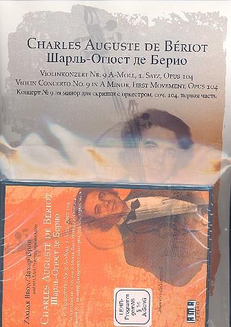 1. Satz aus dem Konzert a-Moll Nr.9 opus.104 (+DVD): für Violine und Klavier