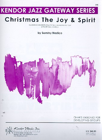 Christmas - the Joy and Spirit: for big band score and parts