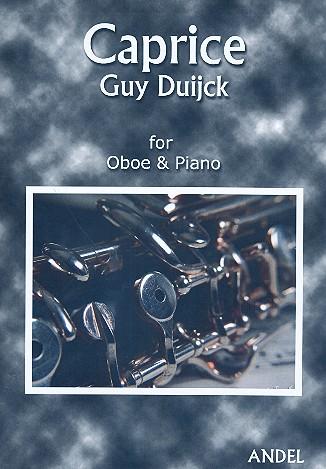 Caprice opus.8: für Oboe und Klavier