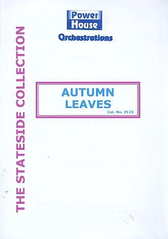 Autumn Leaves: für Gesang und Big Band