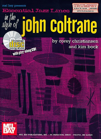 Essential Jazz Lines in the Style of John Coltrane (+CD): for trumpet
