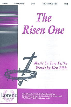 103956 The risen One: for mixed chorus and piano
