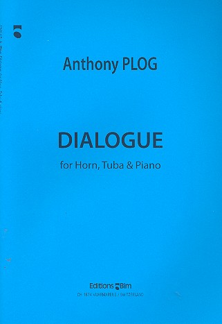 Dialogue: for horn, tuba and piano parts