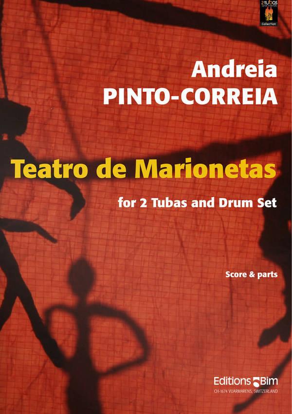 Teatro de marionetas: for 2 tubas and drum set