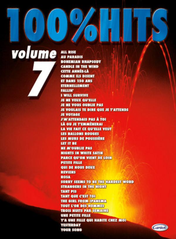 100% Hits vol.7 songbook piano/vocal/guitar