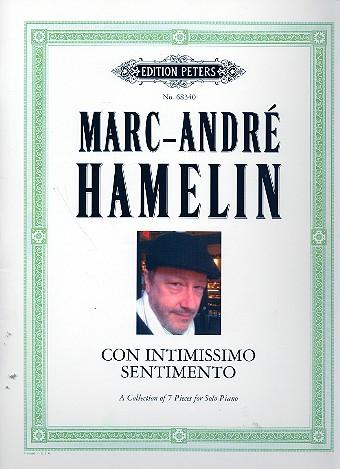 Hamelin, Marc-André - Con intimissimo sentimento : for piano