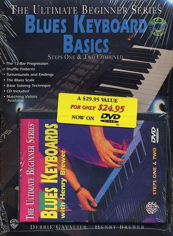 Blues Keyboard Basics: Megapack (vol.1 and 2 +CD +DVD)