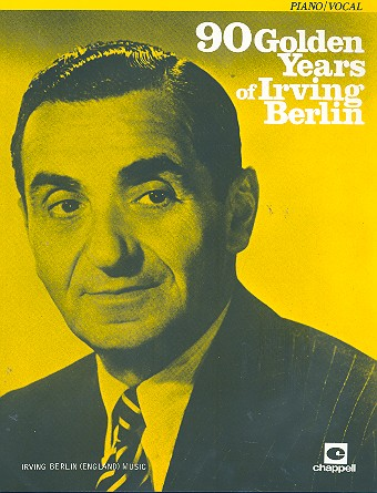 90 Golden Years of Irving Berlin songbook piano/vocal/guitar