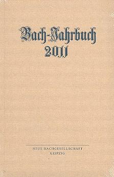 Bach-Jahrbuch 2011