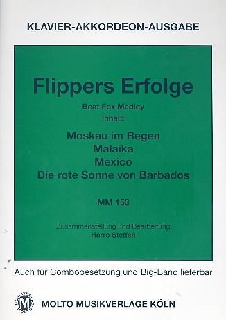 Flippers Erfolge: für Klavier (Akkordeon) (mit Text und Akkorden)