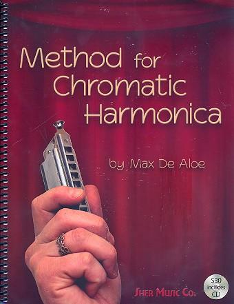 De Aloe, Max - Method for Chromatic Harmonica (+CD)